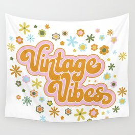 Vintage Vibes Wall Tapestry