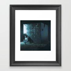 DECAY BOX (everyday 01.12.16) Framed Art Print