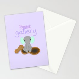 Peanut Gallery 3 Stationery Cards