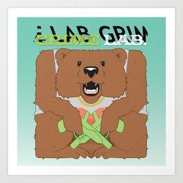 Thug Bear  Art Print