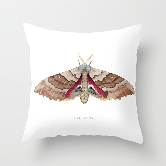 Big Poplar Sphix Throw Pillow