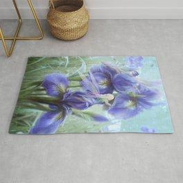 Imagine - Fantasy iris fairies Rug