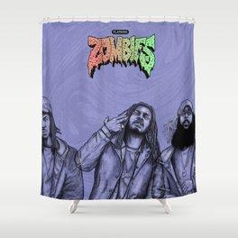 Flatbush ZOMBiES.(alt) Shower Curtain