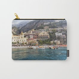 View of Positano from The Sea Carry-All Pouch