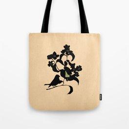 Idaho - State Papercut Print Tote Bag