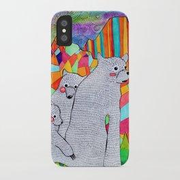 Three Bears iPhone Case