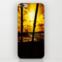 Saturday's Not In The Park (Oceanside Pier) iPhone Skin
