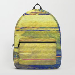 Glitch Security Footage Backpack