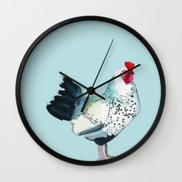 Kitchen Chicken Wall Clock