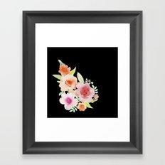Spanish flowers Framed Art Print