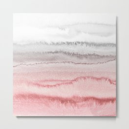 WITHIN THE TIDES - ROSE TO GREY Metal Print