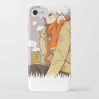 kakashi iPhone & iPod Cases featuring Hot Tea by xtcetera