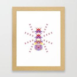 8 legged ant Framed Art Print