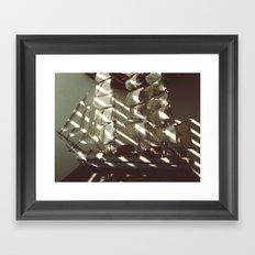 Wooden Ship Framed Art Print
