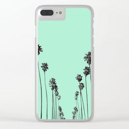 Palm Trees 9 Clear iPhone Case