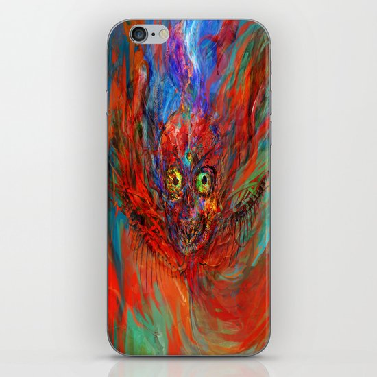 When soul leaves the body iPhone & iPod Skin