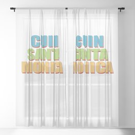 CUIN Santa Monica Sheer Curtain