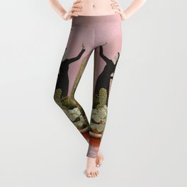 The Wonders of Cactus Island Leggings