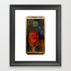 Zodiac : Leo Framed Art Print
