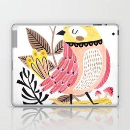 Little Birdy on a Log Laptop & iPad Skin