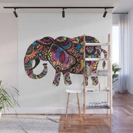 Multi-colored Wall Mural