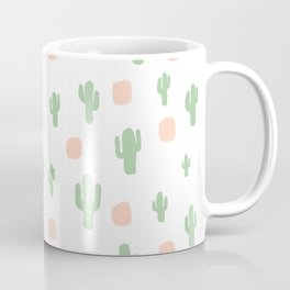 Cactus Pattern - tight Coffee Mug