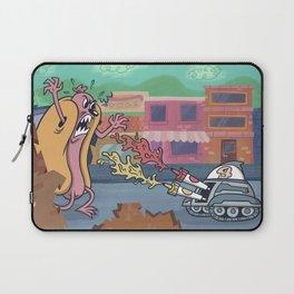 Hot Dog Attack! Laptop Sleeve