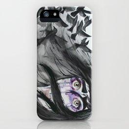 Dark Wings, Dark Words iPhone Case