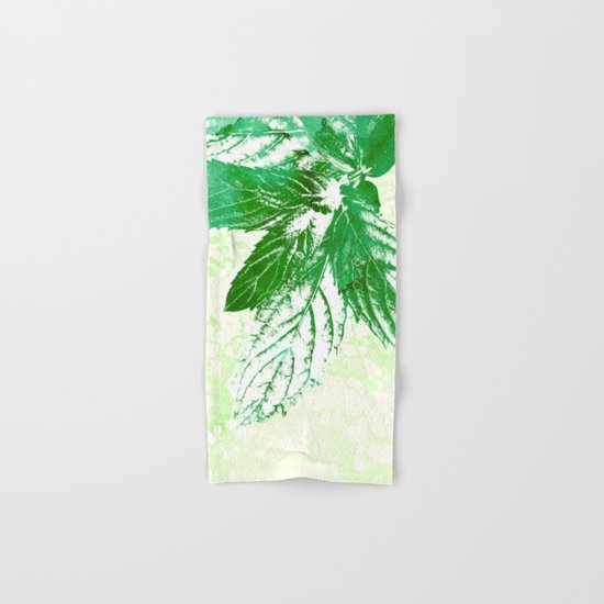 Peppermint  Hand & Bath Towel