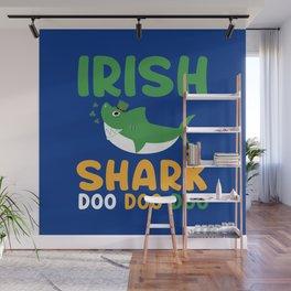 Irish Shark Wall Mural
