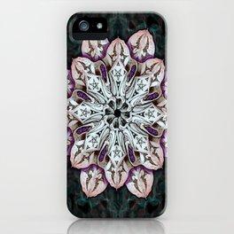badger mandala iPhone Case