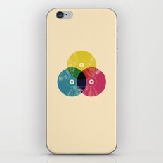 Music is the colors of life iPhone Skin