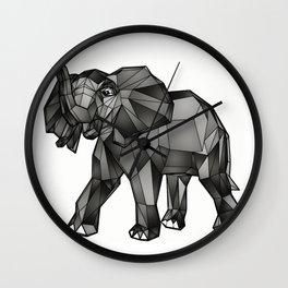 Geometric Giant #1: Elephant Wall Clock