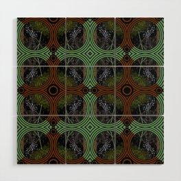 Nature Portals Pattern Wood Wall Art