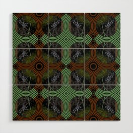 Nature Portals Pattern Wood Wall Art