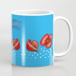 Coquelicot et brume bis Coffee Mug