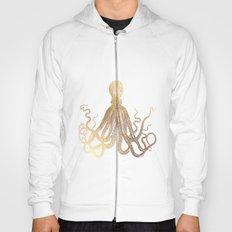 Gold Octopus  Hoody