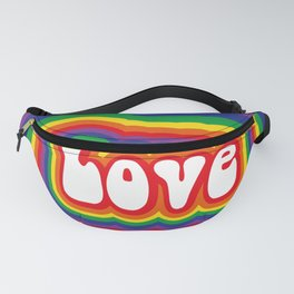 Love geode Fanny Pack