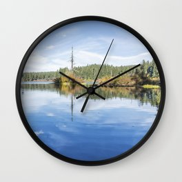 The Snag at Clear Lake Wall Clock