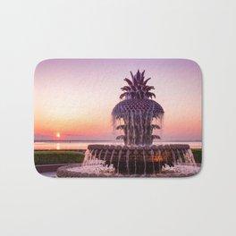 Pineapple Fountain 2 Bath Mat