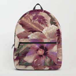 Antiqued Garnet Ginger Aloha Backpack