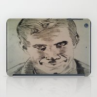 psycho iPad Cases featuring Psycho by Paintings That Pop