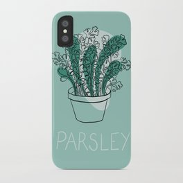 Parsley iPhone Case