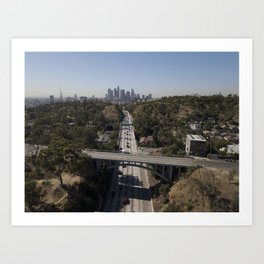 Los Angeles 110 Art Print