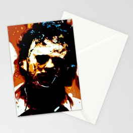 Leatherface Stationery Cards