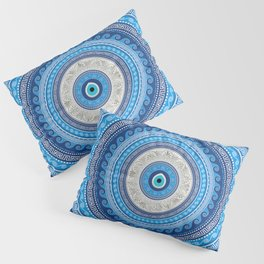 Greek Mati Mataki - Matiasma Evil Eye ornament #2 Pillow Sham