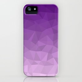 Purple Ombre - Flipped iPhone Case