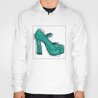 shoe Hoodies featuring Shoe 2 by AstridJN
