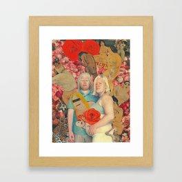 chouchou et loulou Framed Art Print