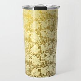Scrooge Piles Travel Mug